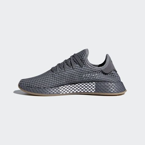 cheap for discount 4ba64 e5e76 adidas Deerupt Runner Shoes - Grey  adidas US Sneakers