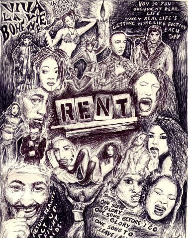 180 Renthead Ideas Rent Musical Musicals Musical Theatre