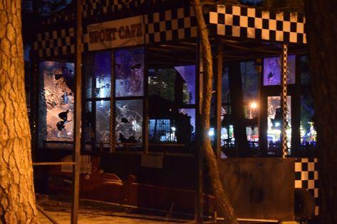 Sport cafe, kobuleti, georgia - #cafe #georgia #kobuleti #lost #place #sport