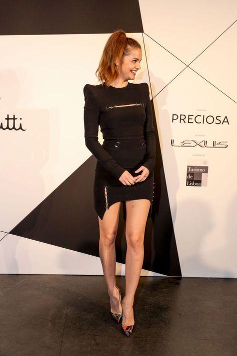 LISBON, PORTUGAL - NOVEMBER 11: Internacional Super Model Barbara Pavlin during ...,  #barbara #Internacional #LISBON #Model #November #Pavlin #Portugal #Super #Supermodels2017