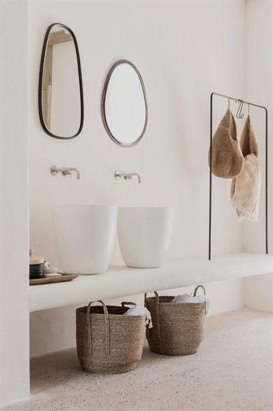 Une Décoration Naturelle Pour Un Séjour Enchanteur Bathroom Design Inspiration Natural Bathroom Bathroom Styling
