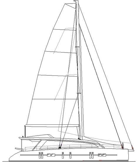Plywood Cat Asymmetrical Boats T Catamaran And