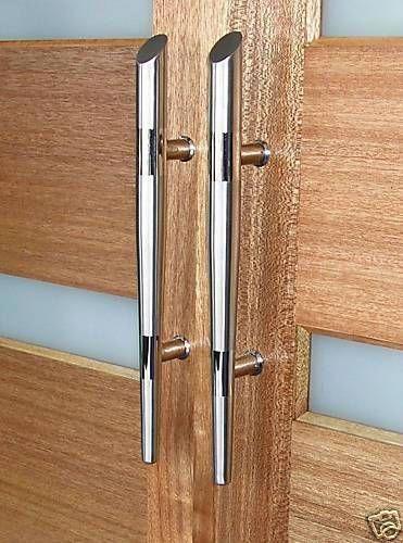 Exterior Premium Door Handles Pull Push Stainless Steel Entrance Gate Entry Frontdoor Door Handles Front Door Handles Steel Doors Exterior