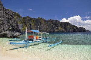 """Impressionen vor Antritt einer Bootsfahrt auf dem """"Underground River"""" in Sabang- Auf einer unserer Philippinen Reisen."""