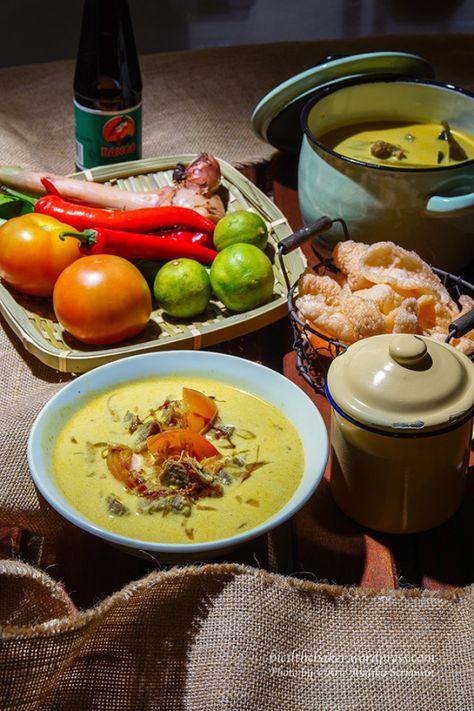 Soto Betawi Beef Brisket In Coconut Soup Coconut Soup Brisket