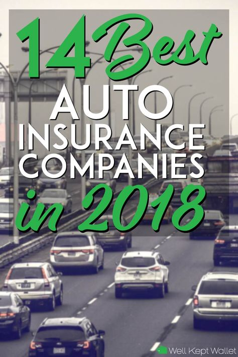 15 Best Auto Insurance Companies in 2019