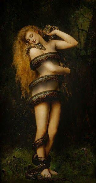 Lilith - tableau par John Collier