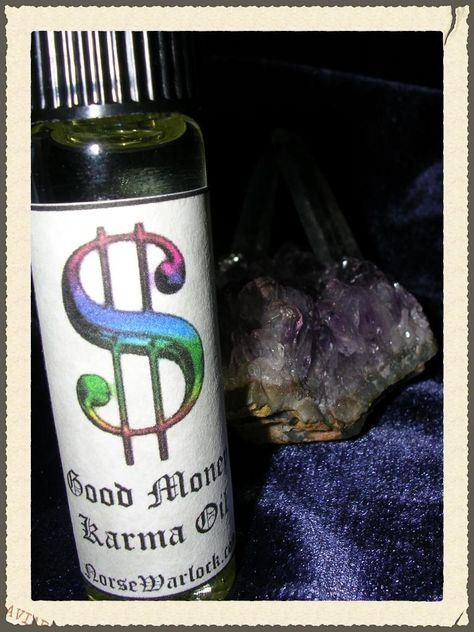 Good Money Karma Anointing Oil Reverses Debt and Draws