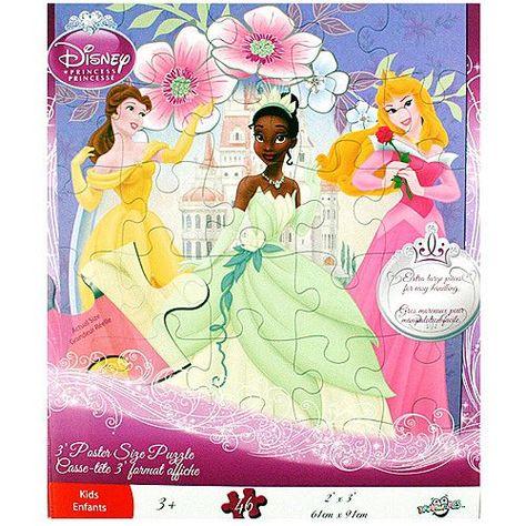 Disney Princess 3 foot Poster Size Puzzle