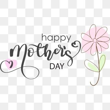 Happy Mothers Day Text Lettering Handwritten Mothers Day Clipart Happy Mother S Day Mothers Day Png And Vector With Transparent Background For Free Download Mothers Day Text Happy Mothers Day Mother S Day