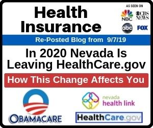 Health Insurance Nevada Is Leaving Healthcare Gov In 2020