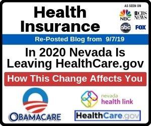 Health Insurance Nevada Is Leaving Healthcare Gov In 2020