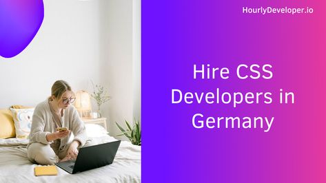 Hire CSS Developers in Germany