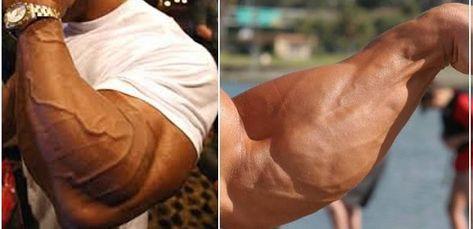 Mann zu dünne unterarme burliraven: Arme
