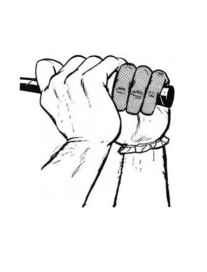 An effective grip requires strong hands, especially the last three fingers of the left hand, which will be the first to let go of the club at the top of the swing. To strengthen these fingers, squeeze the steering wheel of your car with them, as tightly as you can, for 10 seconds every time you drive. This exercise will do more for your game than any drill I can imagine.