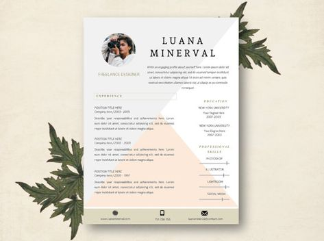 How To Write A Resume For High School Students Modern  Page Resume  Unique Resume Cv Template And Resume  Skills Resume Samples Excel with Legal Resume Format Modern  Page Resume  Unique Resume Cv Template And Resume Architecture Templates For Resumes Free Pdf