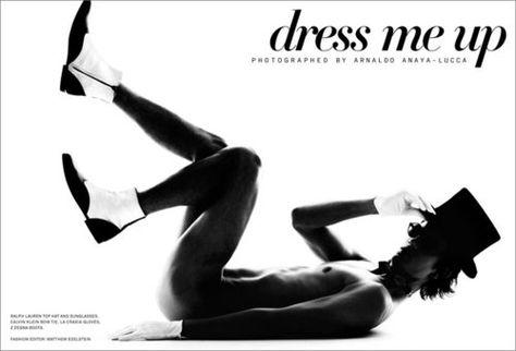 Dress me up. Eric Anderson by Arnaldo Anaya Lucca