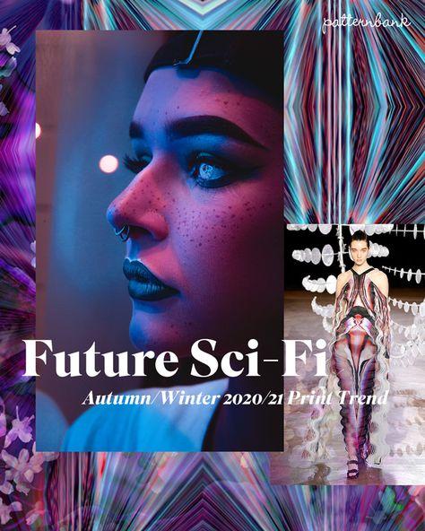 Autumn/Winter 2020/21 Print & Pattern Trend – Future Sci-Fi
