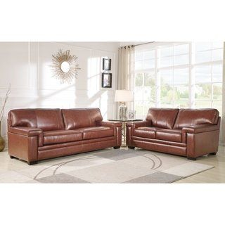 Overstock Com Online Shopping Bedding Furniture Electronics Jewelry Clothing More Top Grain Leather Sofa Leather Sofa Living Room Leather