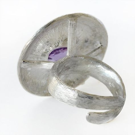 Silver ring silver and gold ring ring rose gold di ArleneJewels