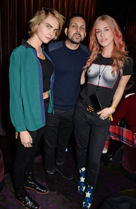 Cara Delevingne parties with Lady Mary Charteris at Dynamo magic show