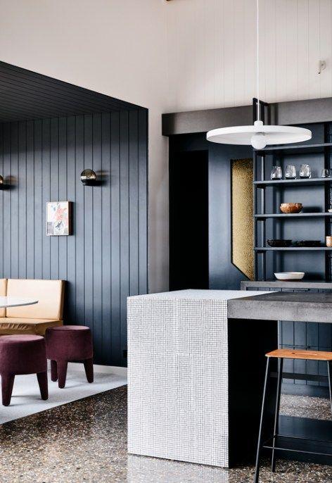 Custom Tile Kitchen Interior Design Awards Australian Interior