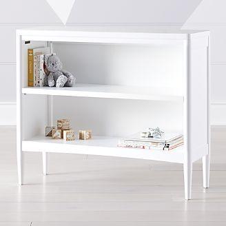 Hampshire Small White Bookcase Small White Bookcase White