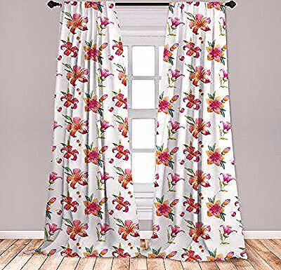 East Urban Home Spring Floral Room Darkening Rod Pocket Curtain Panels Size Per Panel 28 X 63 Rod Pocket Curtain Panels Rod Pocket Curtains Floral Room