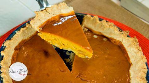 Organic Pumpkin Pie with Gluten Free Crust Recipe | Update ...