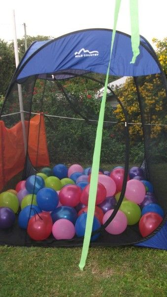 Balloon Easter Egg Hunt - Creative Easter Egg Hunt Ideas  - Photos