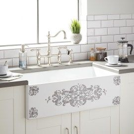 40 Gorgeous Farmhouse Sink Ideas Best For Your Kitchen With