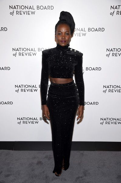 Actor Lupita Nyong'o attends the National Board of Review Annual Awards Gala.