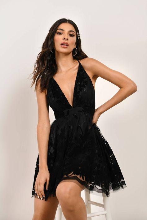 Black Hoco Dresses, Black Formal Dress Short, Cute Homecoming Dresses, Sweet 16 Dresses, Formal Dresses For Women, Ball Dresses, Pretty Dresses, Chiffon Dresses, Skater Dresses