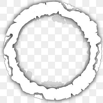 Efeito De Papel Rasgado De Quadro De Circulo Branco Tela Transparente Efeito Legal Imagem Png E Psd Para Download Gratuito Papel Rasgado Circulos Papel De Notas