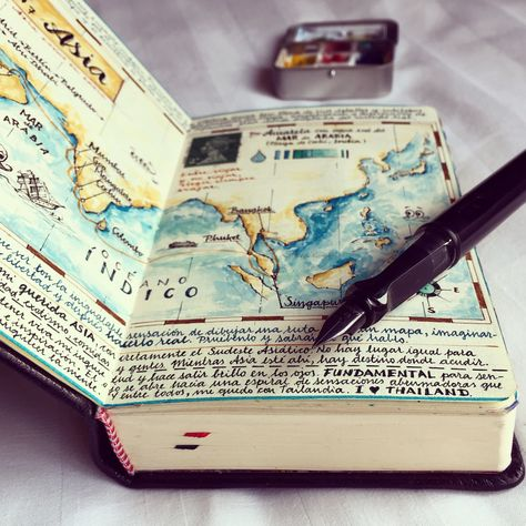 The art of the travel diary – in pictures