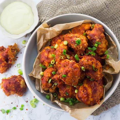 Vegane Chicken Wings Aus Blumenkohl Rezept Rezepte Vegane Hauptspeisen Und Kochrezepte