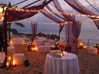 Vibrant Beach Wedding Reception Decor In 2020 Indian Beach
