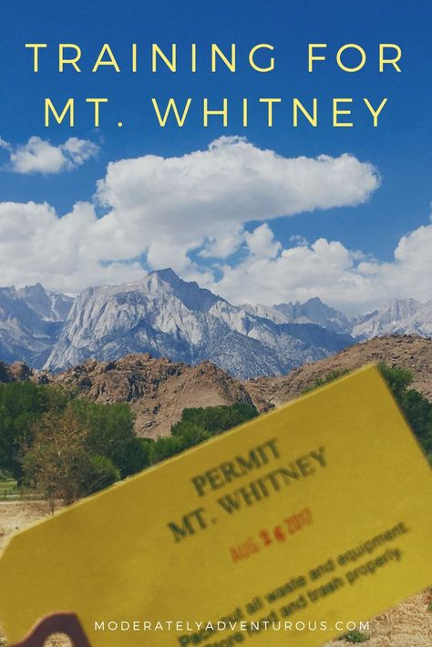 I am not an expert hiker, but I did the Mt. Whitney Day Hike successfully! Click through to see my training schedule for the 22-mile out and back hike. By the way, Whitney was incredible! #MtWhitney #Whitney #Hike #14er #trainingschedule #training #Modera