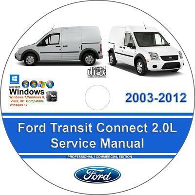 Advertisement Ebay Ford Transit Connect 2003 2012 Factory