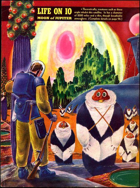 Life on Jupiter Moon. Frank Rudolph Paul