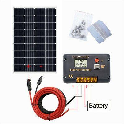 360w 2 180w Watt Solar Panel Kit 20a Mppt Controller For 24v Home Boat Battery For Sale Online Ebay In 2020 Solar Panel Kits Off Grid Solar Panels 12v Solar Panel