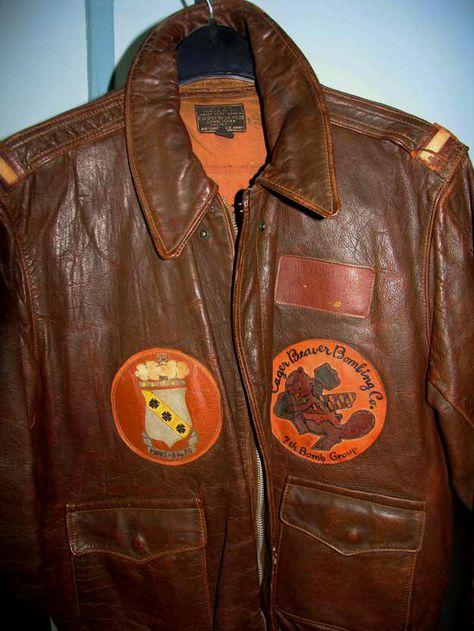 Flight Jacket, Bombardment Squadron, World War II