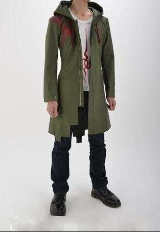 Super Danganronpa 2 Komaeda Nagito Hoody Cosplay Costume Custom Coat Shirt Pants