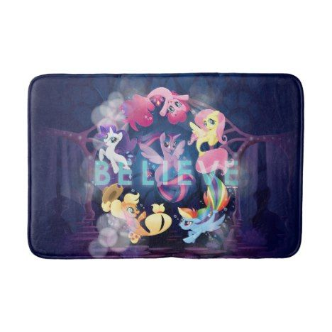 My Little Pony Mane Six Seaponies Believe Bathroom Mat