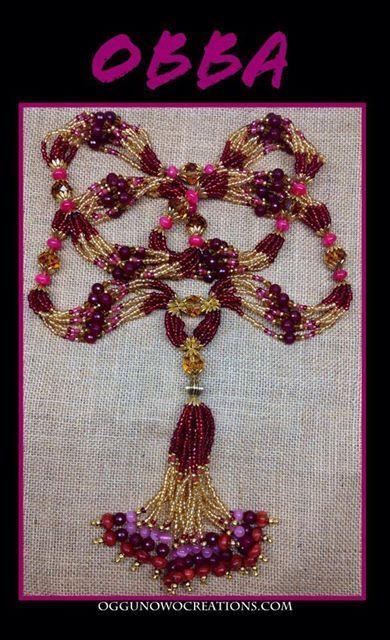 Set 5 Collares Elekes Santer/ía religi/ón Yoruba afrocubana