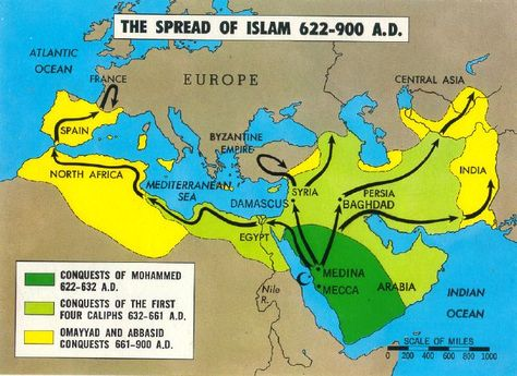 a look at the spread of religion through conquest in history Successfully established the new faith through conversion and conquest of islam spread rapidly the wars of days of conquest the new religion converted and.