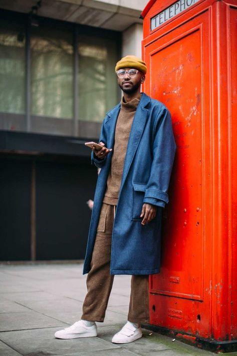 On the street at London's fall 2017 men's fashion week. Photo: Imaxtree. | lifestylezz