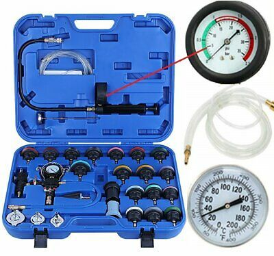Details About 28 Pcs Radiator Pressure Tester Vacuum Type Cooling