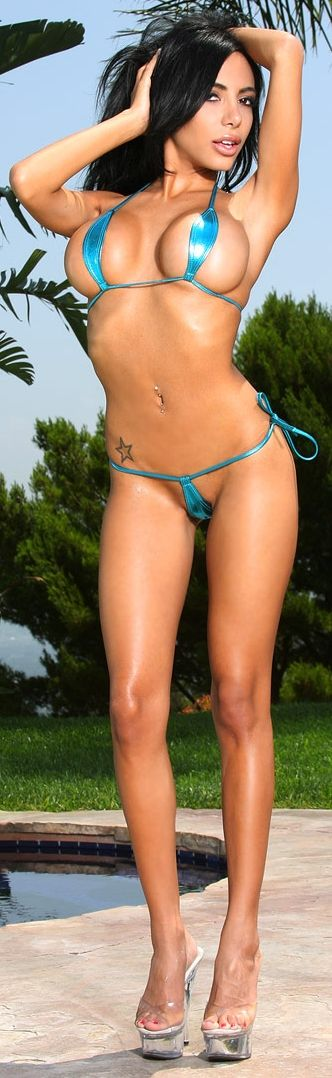 Something Lela star bikini skimpy think