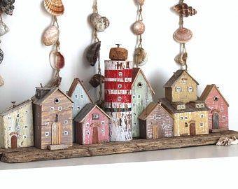 Scandinavian Driftwood wall photo holder